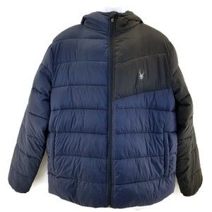 Spyder  Hooded Therma Web Frontier Mens Puffer Jac